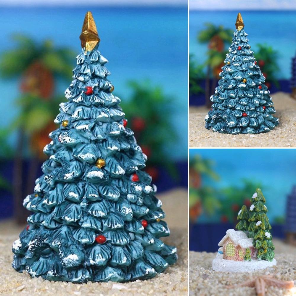 Fish Tank Aquarium Ornament Christmas Landscaping Decoration Shopee Philippines