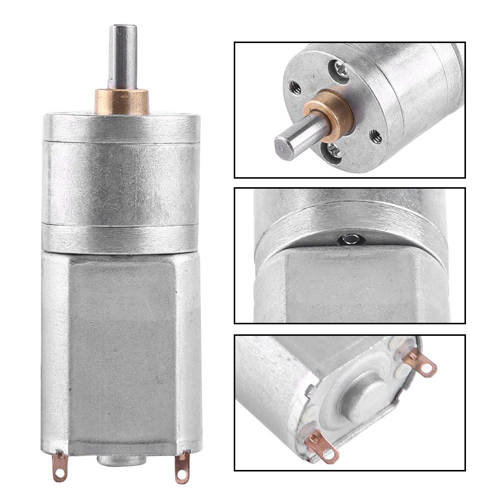 Outer Electric Reduction High 15~200RPM 12V DC Motor Torque