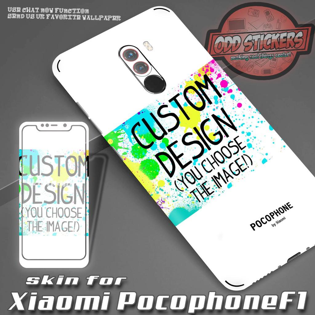 new product cb439 f3bd7 Pocophone F1 Premium Send your Design Skin by Odd Stickers