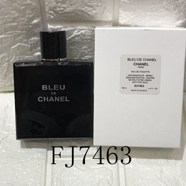 Chanel Bleu De Chanel Men Ustester Perfume Shopee Philippines