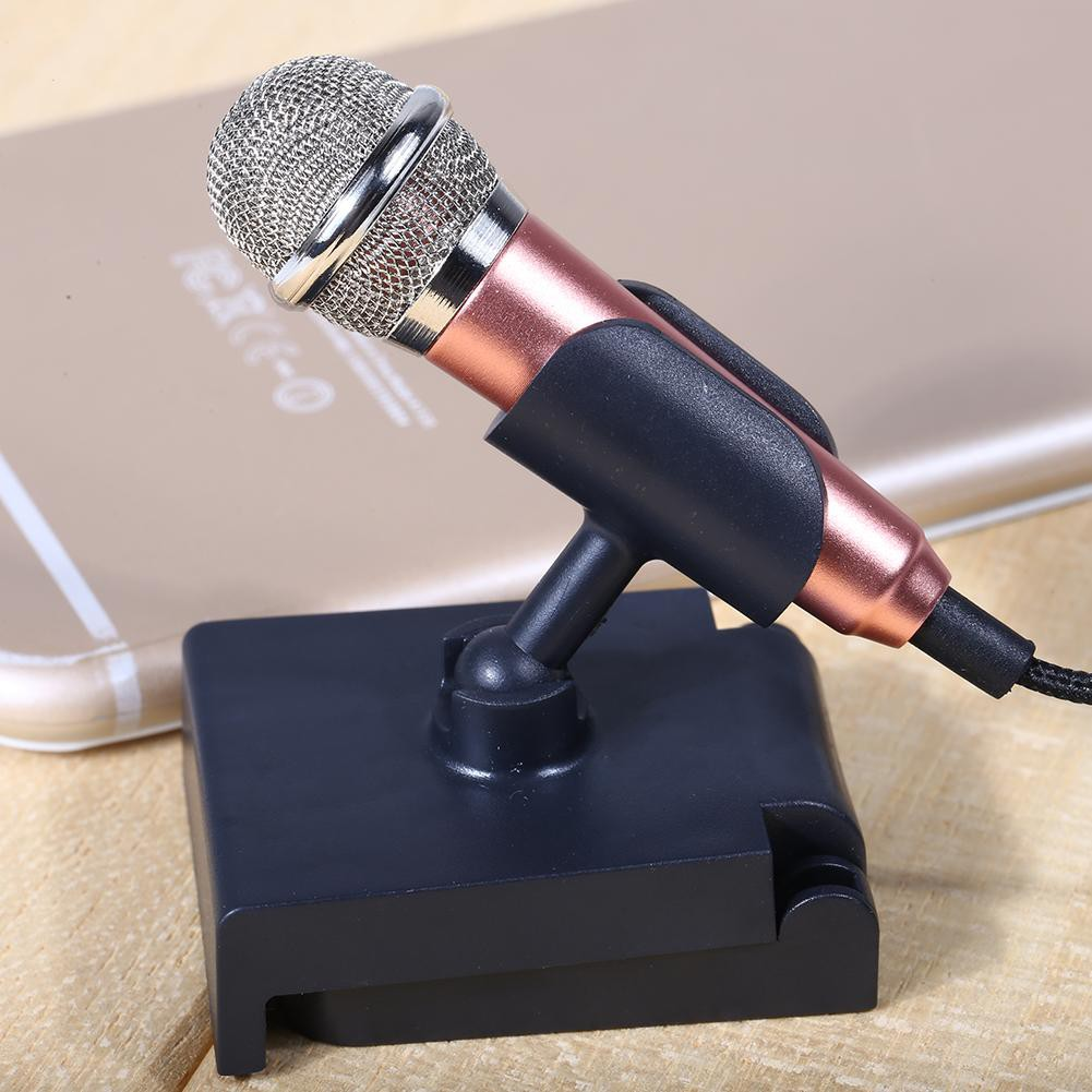 Amazon.com: Culinary 2116 Universal Mini Microphone with Omnidirectional  Stereo Mic for Phone, Singing