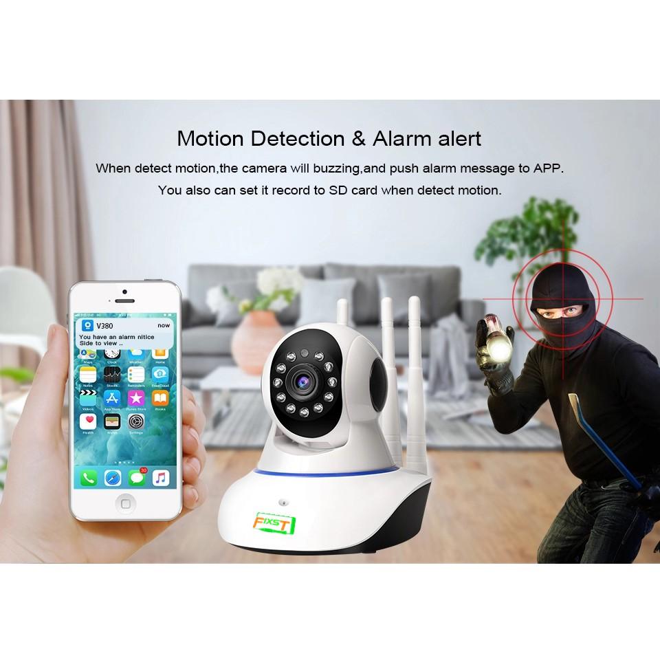 360° Wireless Baby Monitor IR Night Vision P2P Security IP Camera Two-way Voice