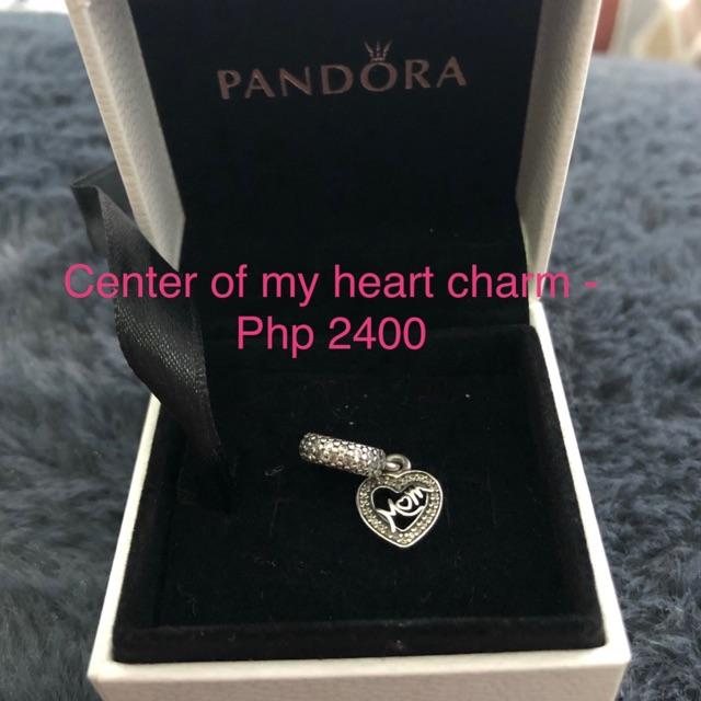 5b64f9985c6 ProductImage. ProductImage. Pandora center of my heart charm (mom ...