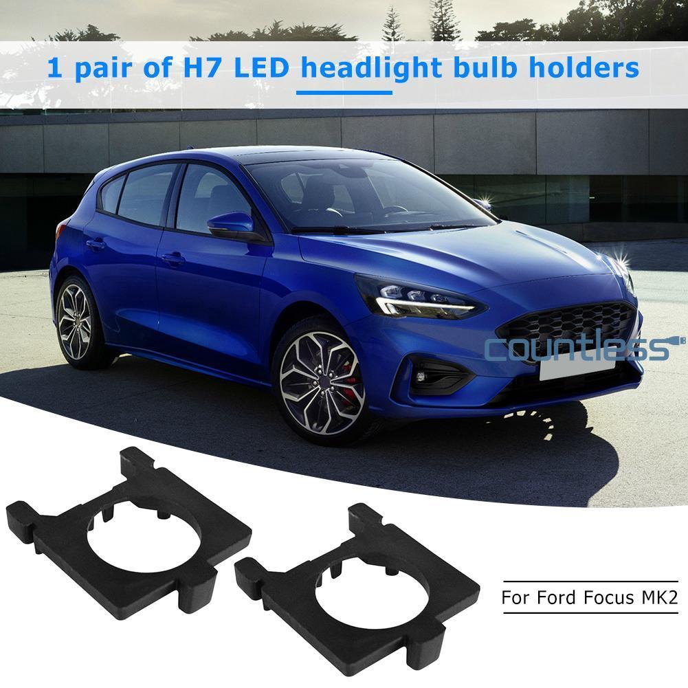 Ford Focus MK2 55w Super White Xenon HID High//Low//Fog//Side Headlight Bulbs Set