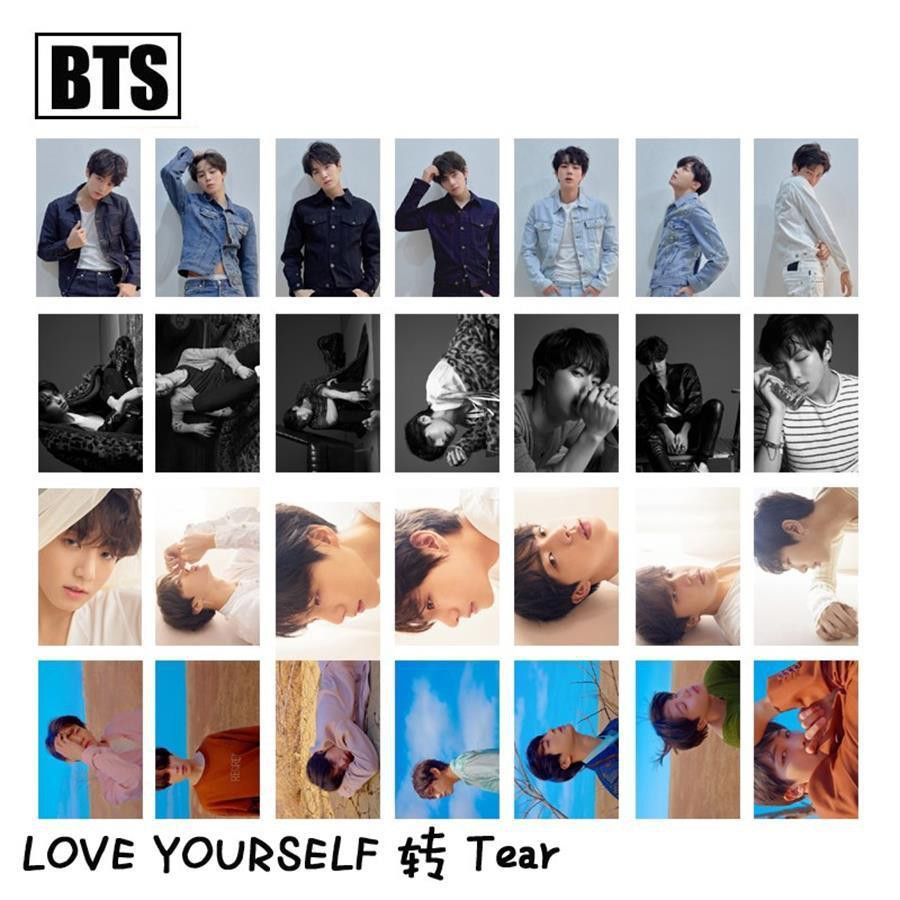 Her Official Album+poster+extra 4 Photocards Set Tear Bts Love Yourself Answer