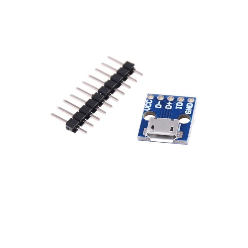10PCS 5V Power 2.54mm Header USB Female Port Connector Breakout AIP