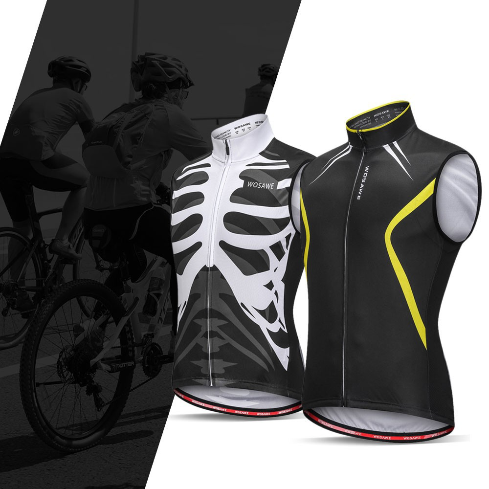 new  Wosawe Sleeveless Cycling Vest Jersey Breathable MTB Bike Riding Top  Sports Jacket for Men  bd0a0f063
