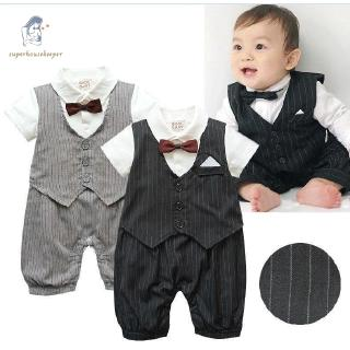 30964d308 Clothes New Baby Boy Clothes-Boys Tuxedo Suit Christening Wedding ...