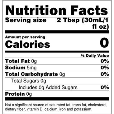 Torani Sugarfree Hazelnut Syrup 750 mL