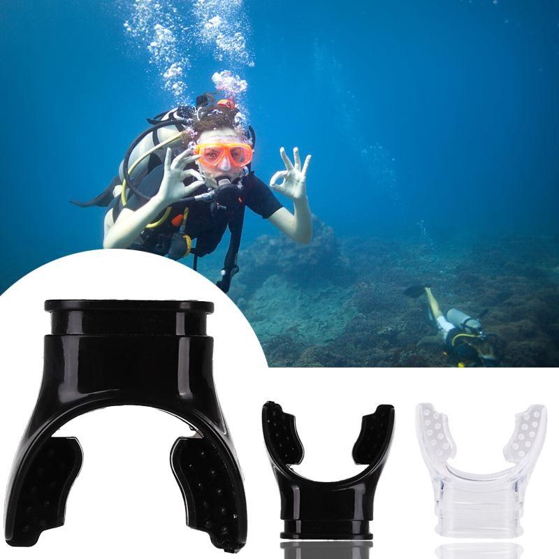 Comfort Soft Scuba Mouthpiece For Regulator Underwater Diving Tube Sky Blue