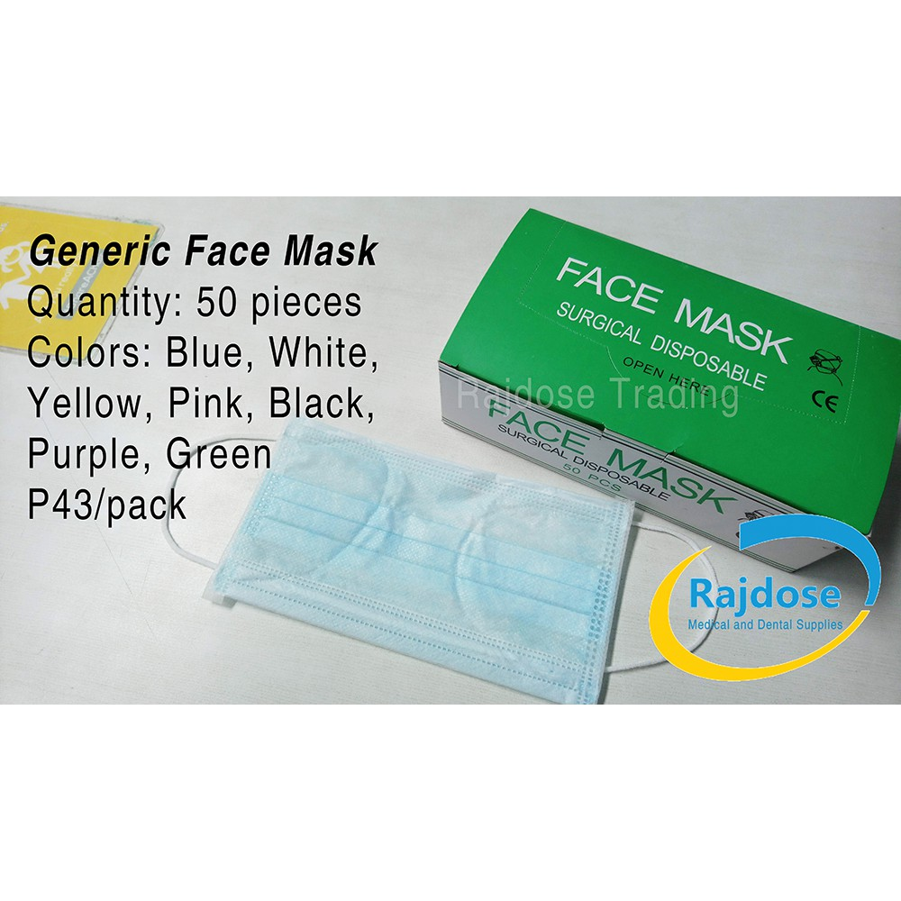 Generic Face For Adults Mask