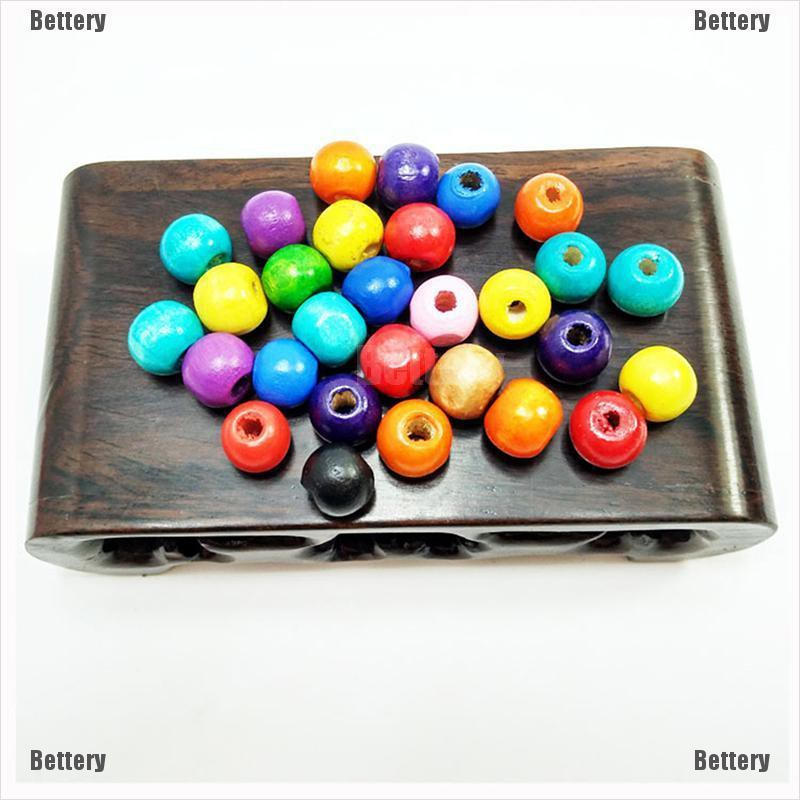 100 pcs Mixed color Acrylic loose Spacer Beads Charms Jewelry Findings 10mm