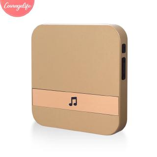 Cou Visual Doorbell Chime Plug In Chime Gold Voice Tips Visitors Universal Wifi Doorbell Chime Shopee Philippines