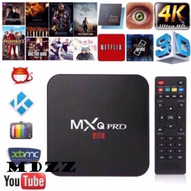 MXQ pro 4K Android ultra HD TV Box with mini usb Led light