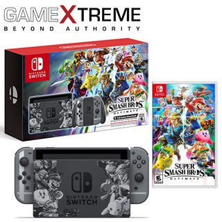 nintendo switch super smash bros. ultimate edition console best buy