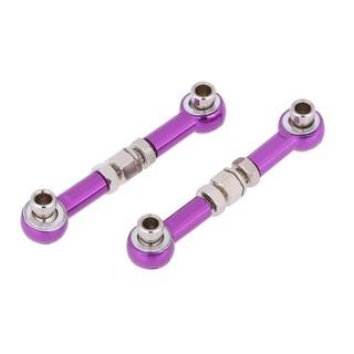 Parts Of A Car 94 >> 2pcs 102017 122017 Upgrade Parts Aluminum Alloy Linkages For 1 10 Hsp Rc Car 94