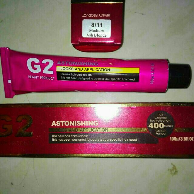 G2 HAIR COLOR