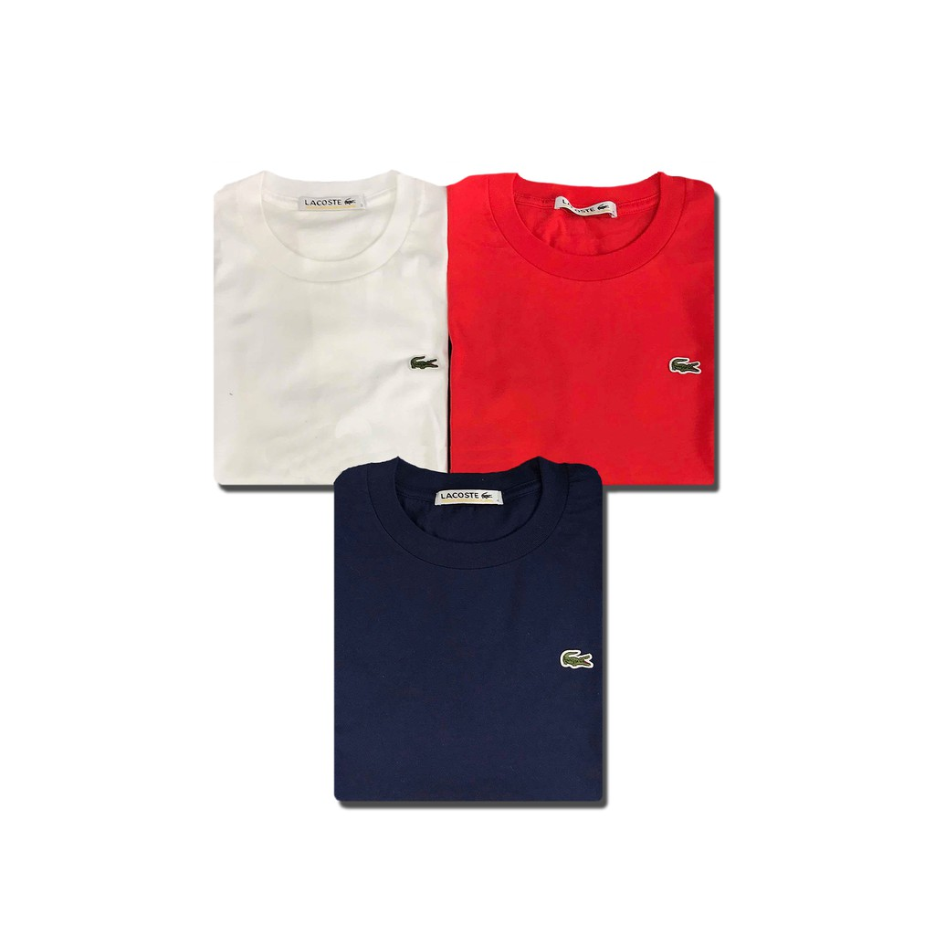f330f7036 Lacoste Classic T Shirt Trio | Shopee Philippines