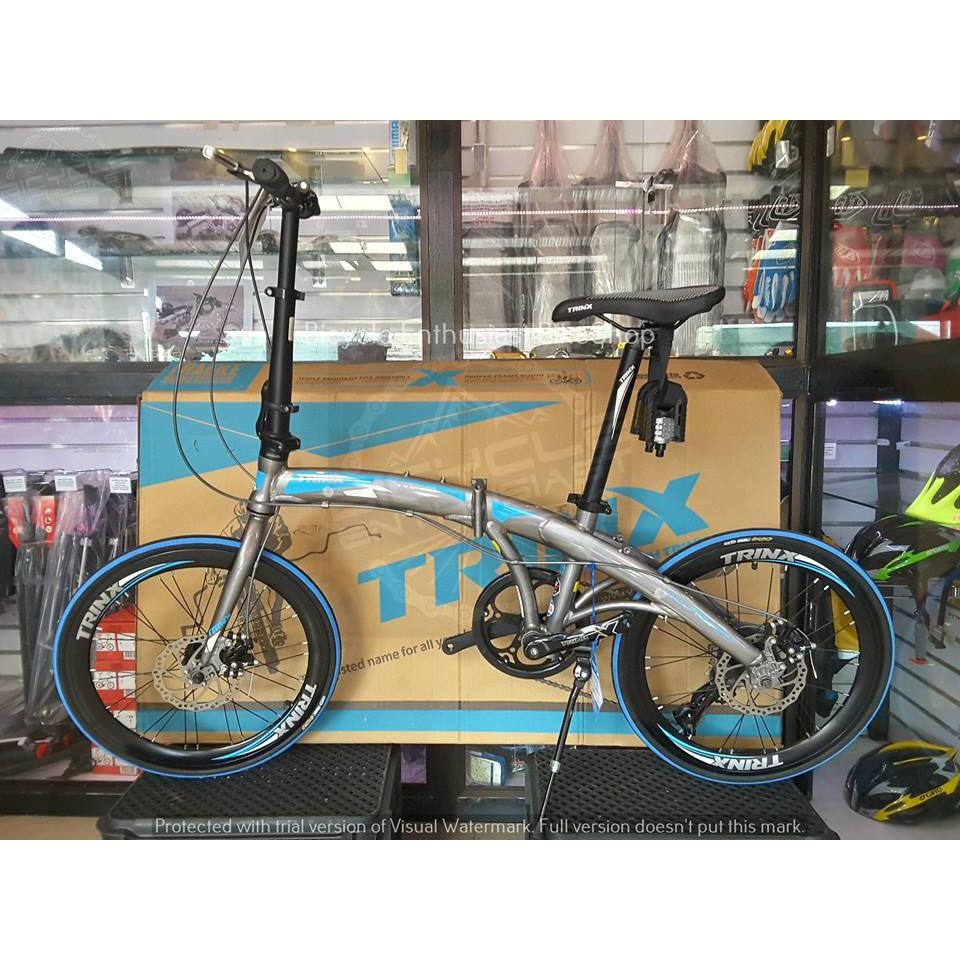 Latest Trinx Dolphin 2 0 Folding Bike 20 Bicycle Mechanical