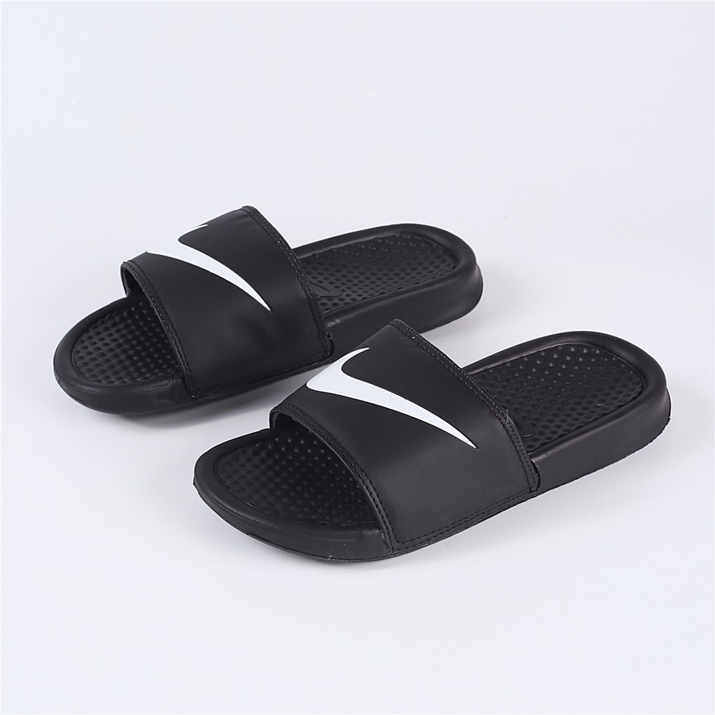 reputable site cf301 55da1 Nike Benassi Jdi Black White Mandarin Duck Slide Sandal   Shopee Philippines