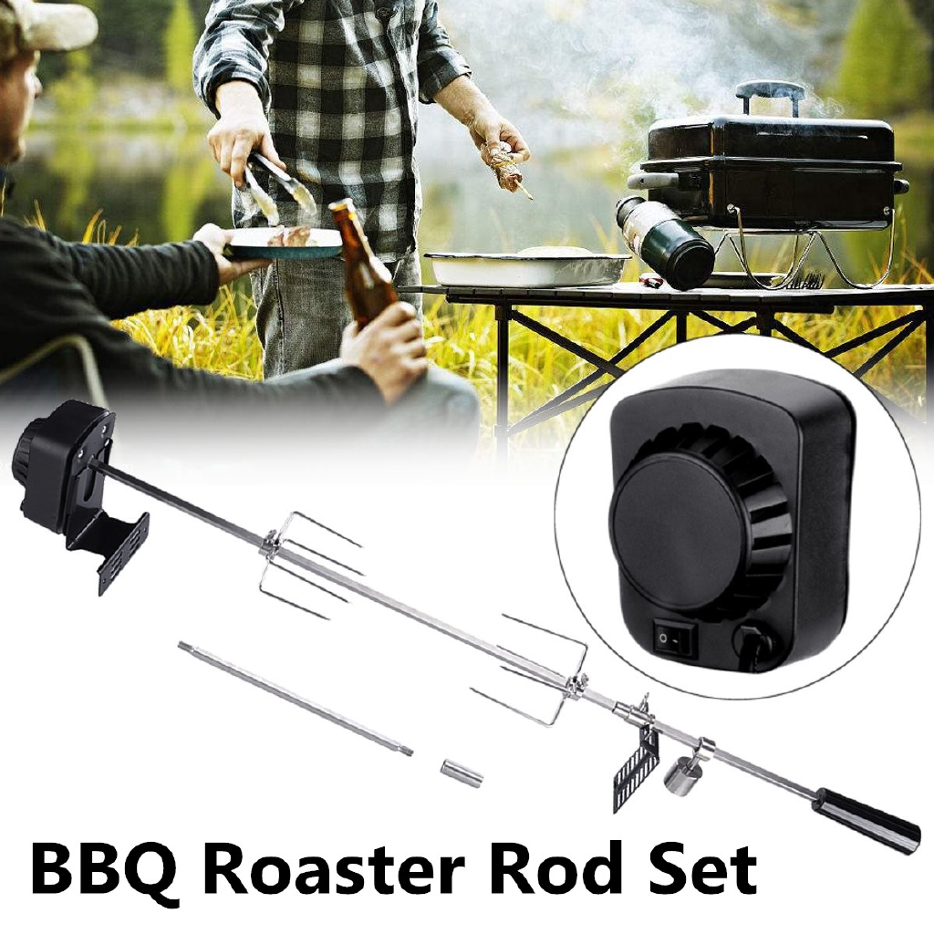 70Kgs Stainless Steel BBQ Motor Pig Lambs Grill Bearing Barbecue Spit
