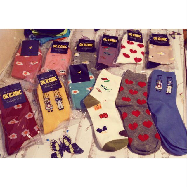 fe8b3209d 🔥🇰🇷 Korean Iconic Socks Side Flowers (Made in Korea) | Shopee Philippines