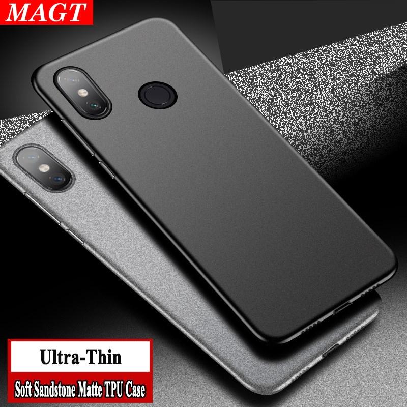 Huawei Y7 Y6 Pro 2019 Y6 Prime 2019/ Y7 Prime 2019 Matte TPU  Fingerprint-proof Case MAGT Y7 Pro 2019