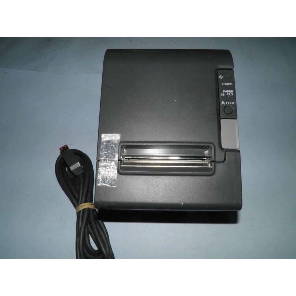 Second Hand Printer POS Epson TM-T88IV Thermal Black Printer