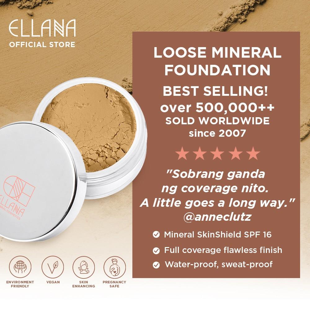 Ellana Caramel Loose Mineral Foundation