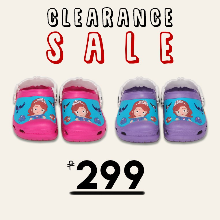 810b482363f CreativeCrocs Kids Clog Sofia The First (Ultraviolet) | Shopee ...