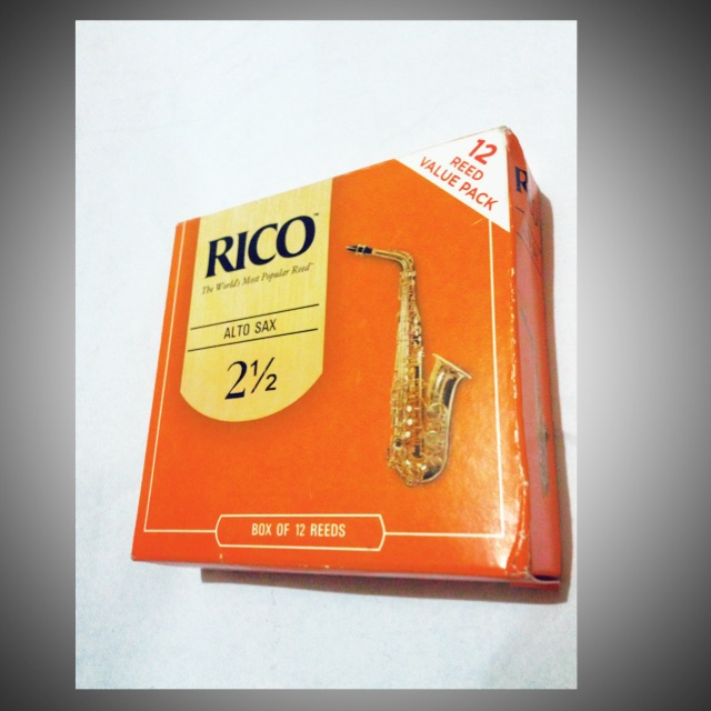 Reed Expression 50 Pieces Alto Sax Saxophone Reeds Strength 1.5 1 1//2