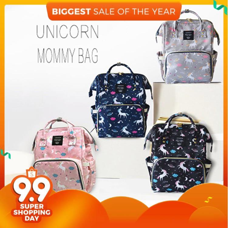 0d840c1897 Unicorn Diaper Bag Baby Nappy Bag Mommy Backpacks