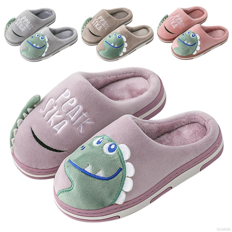 Kids Child Anti Slip Warmer Walks Sneakers PrettyW Toddler Cute Cartoon Bear Shoes Blue, US-5