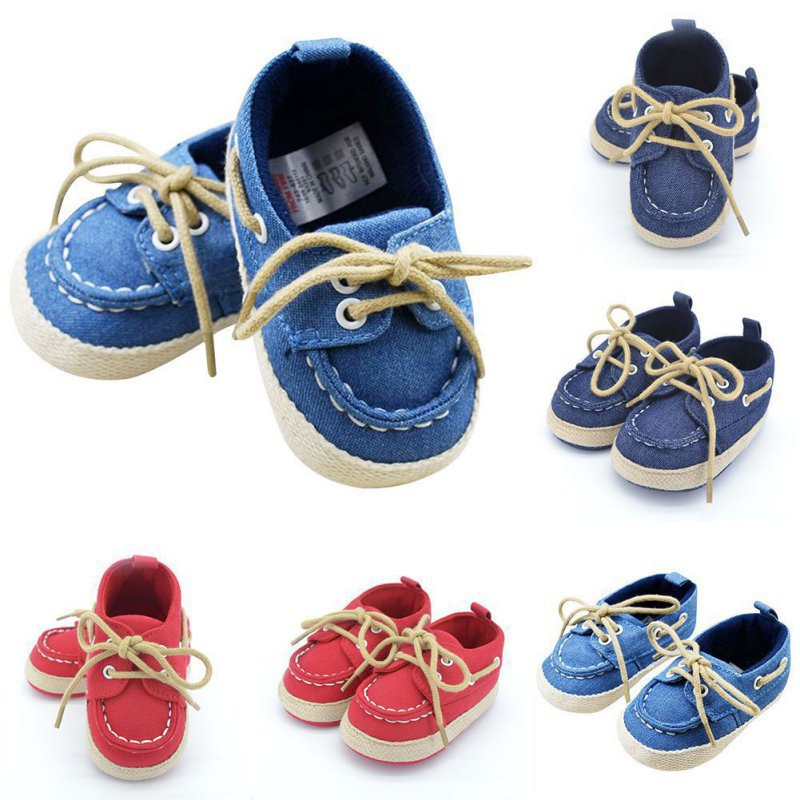 Baby Boy Girl Faux Leather Crib Shoes Loafers Size Newborn to 18 Months//K