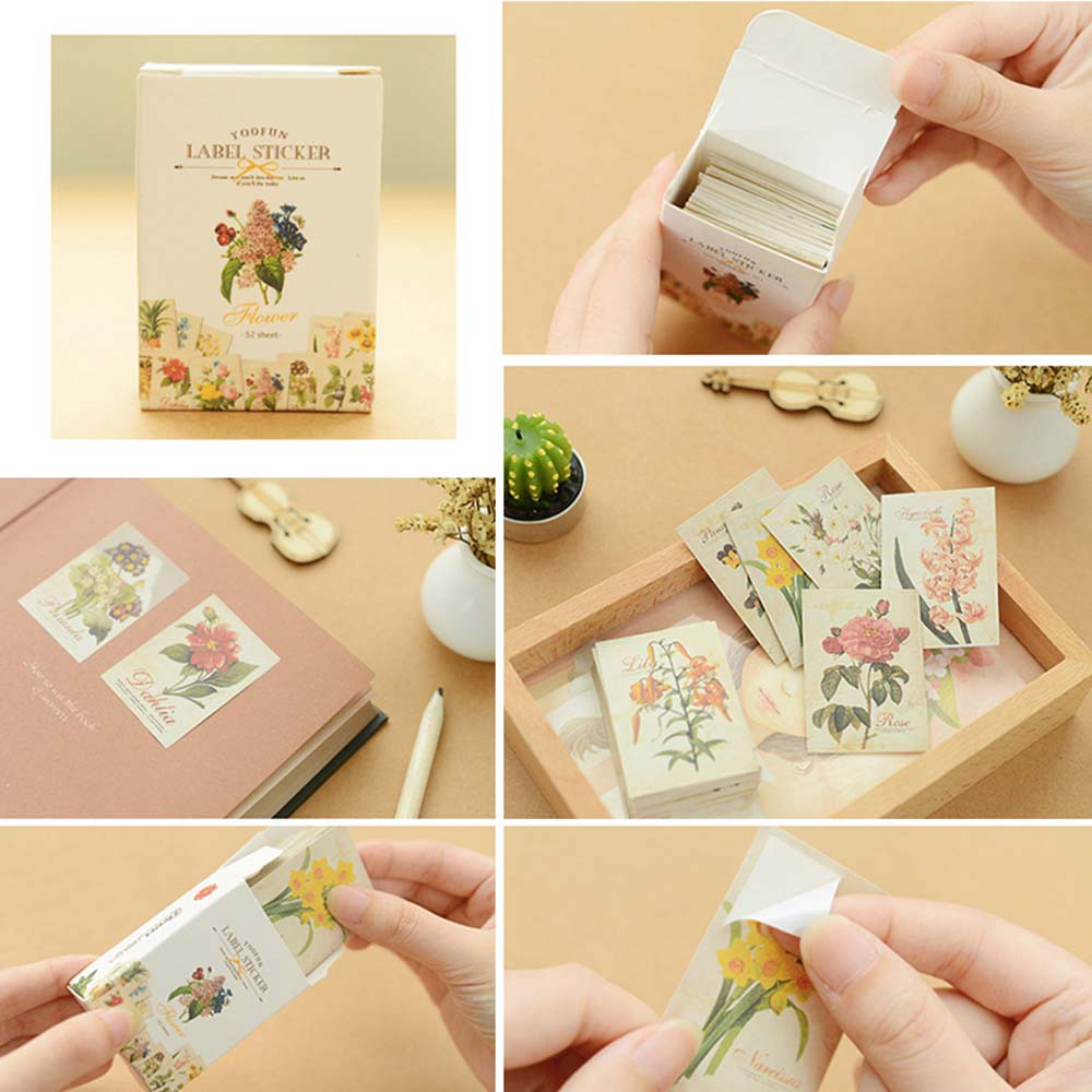 Decorative Stationery Bookmark Gift Paper Gift Sticker Shopee