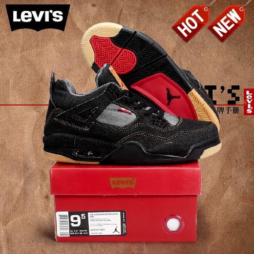 competitive price 3ef45 32dea Jordan 4 Levis   Shopee Philippines