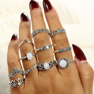 ae7cbce421c10 ❤❤ Knuckle Ring Women Jewelry Vintage Ethnic Retro Fashion Finger ...