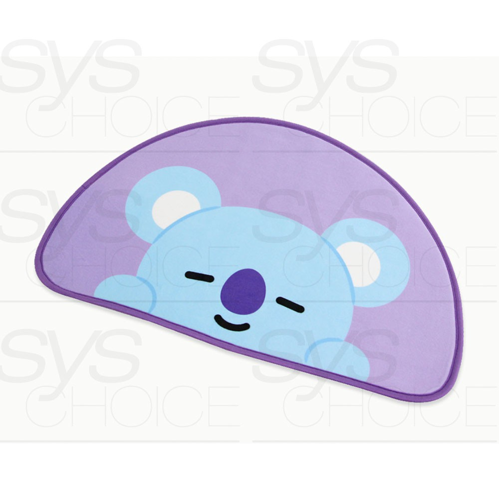 Tracking # BTS BT21 Official Authentic Goods Baby Mini Rug By Narahome