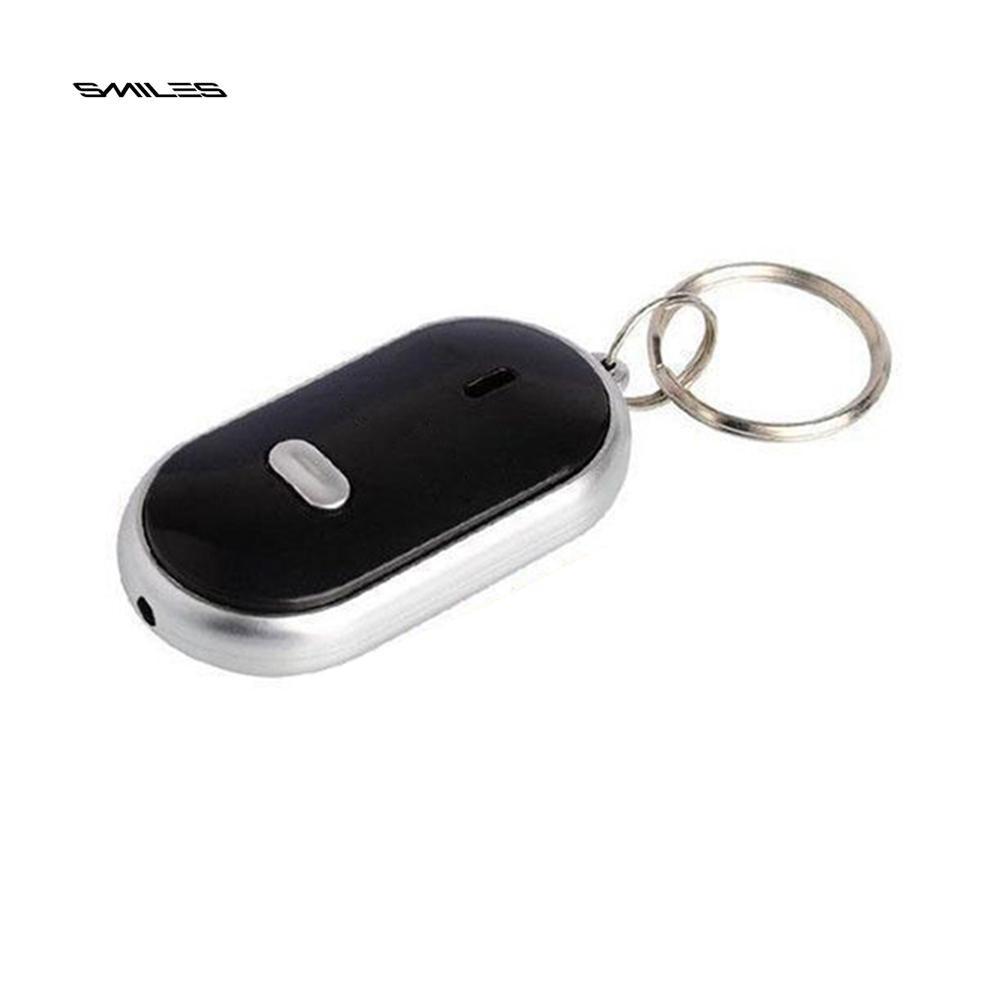 Whistle Sound Led Light Anti-lost Alarm Key Finder Locator Keychain Device Random Color Modern And Elegant In Fashion Anti-lost Alarm Security Alarm