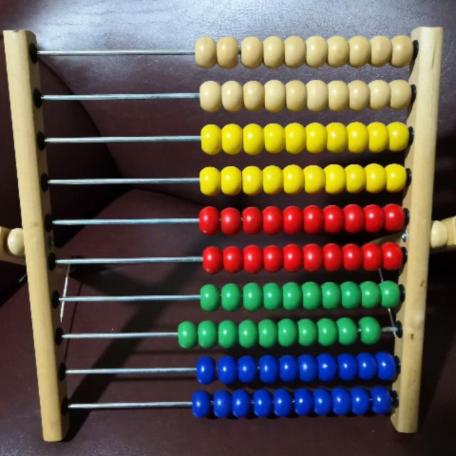 Ikea wooden abacus educational toy | Shopee Philippines