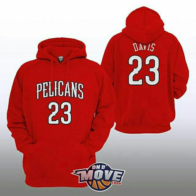 Anthony Davis New Orleans Pelicans Hoodie Red