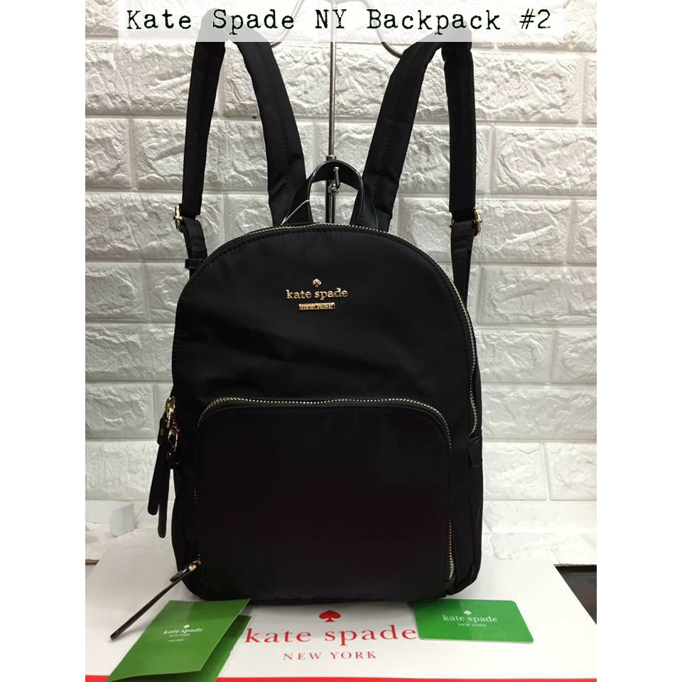 Authentic Kate Spade Backpack New York Women Bag Complete Shopee