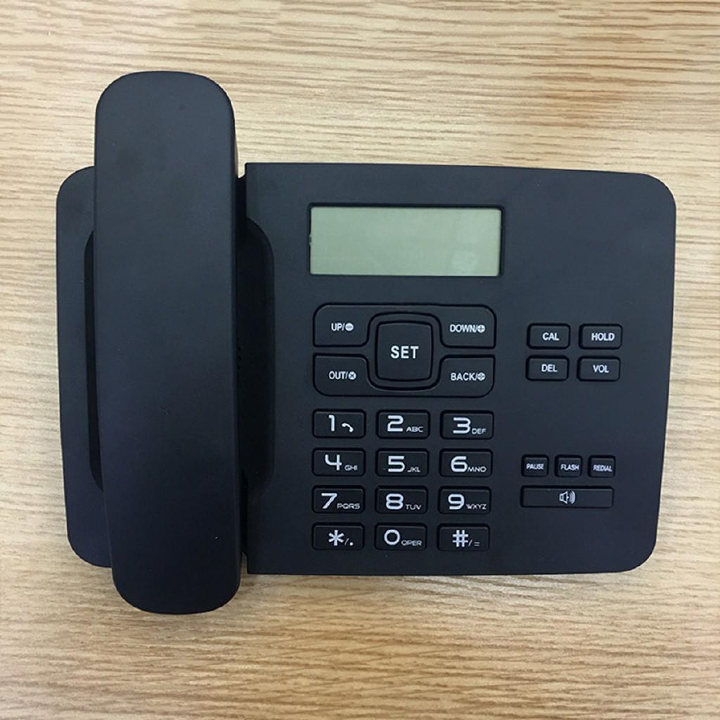 ❉C White Black Landline Home Corded Phone Telephone Business | Shopee  Philippines