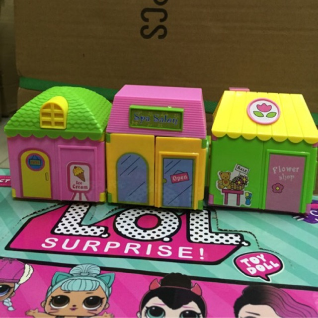 Lol Surprise Small Doll House One Piece Only 3 Designs Toys