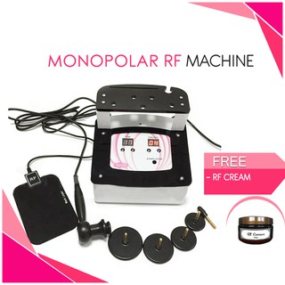 Monopolar RF Radio Frequency face and body slimming machine