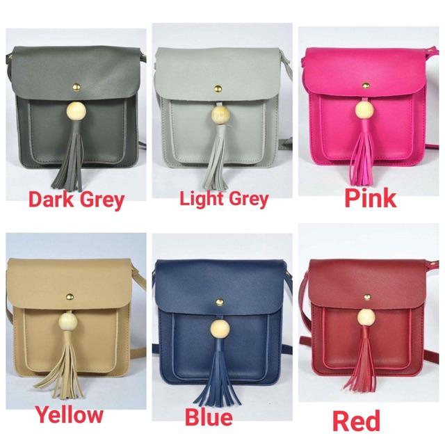 Sale! P180 Korean Leather Sling Bag/ Crossbody