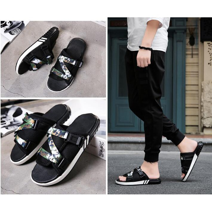 313937a8a1aee4 Men Sandals tennis male ventilative trend of casual slippers   Shopee  Philippines