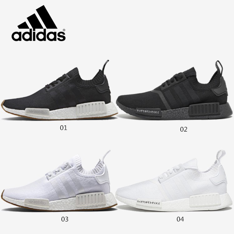6229a088 Ready Stock*4color ori Adidas NMD Boost R1 PK Running shoes Women ...
