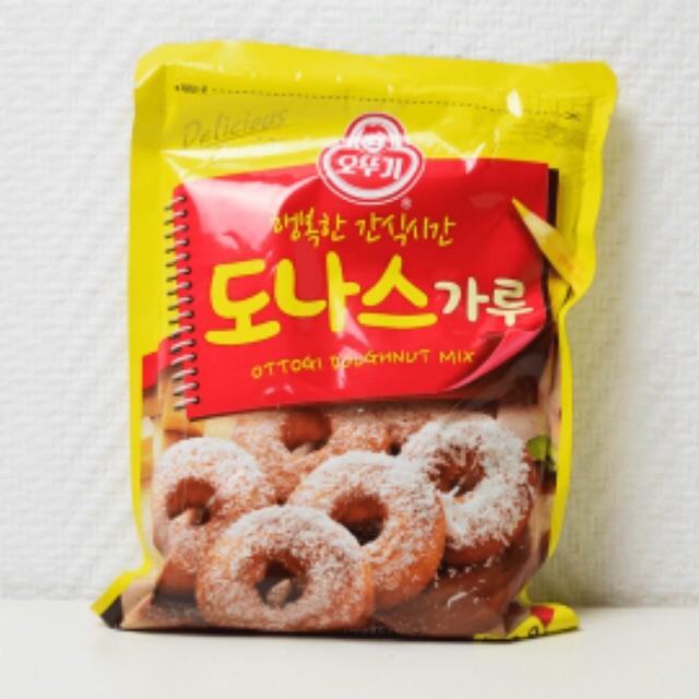 Korean ottogi doughnut mix 500g