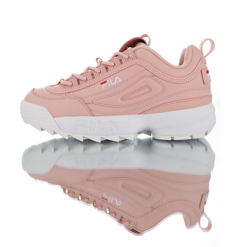Original Authentic FILA DISRUPTOR II Women Pink
